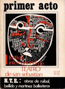 Monografía sobre Festival Internacional de Teatro - San Sebastián