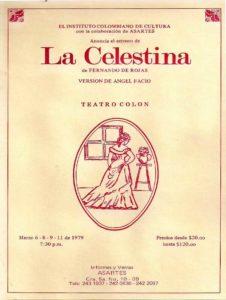 La Celestina - Compañía Nacional de Teatro - Colombia