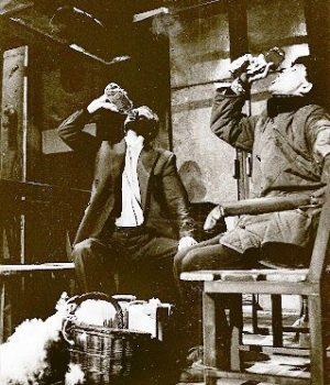 """Juan Diego y Sebastián Haro en""""Moscú Cercanías"""". Teatro Lope de Vega, Sevilla."""