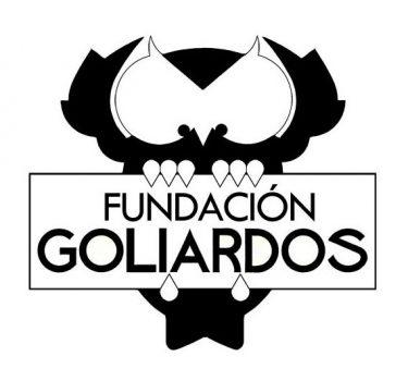 1er logo de Fundación Los Goliardos Diseño Luis Francisco López Elizondo