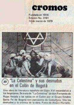 La Celestina-  Colombia, Prensa
