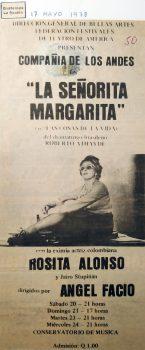 Señorita Marga - La Nación, Guatemala, 1978